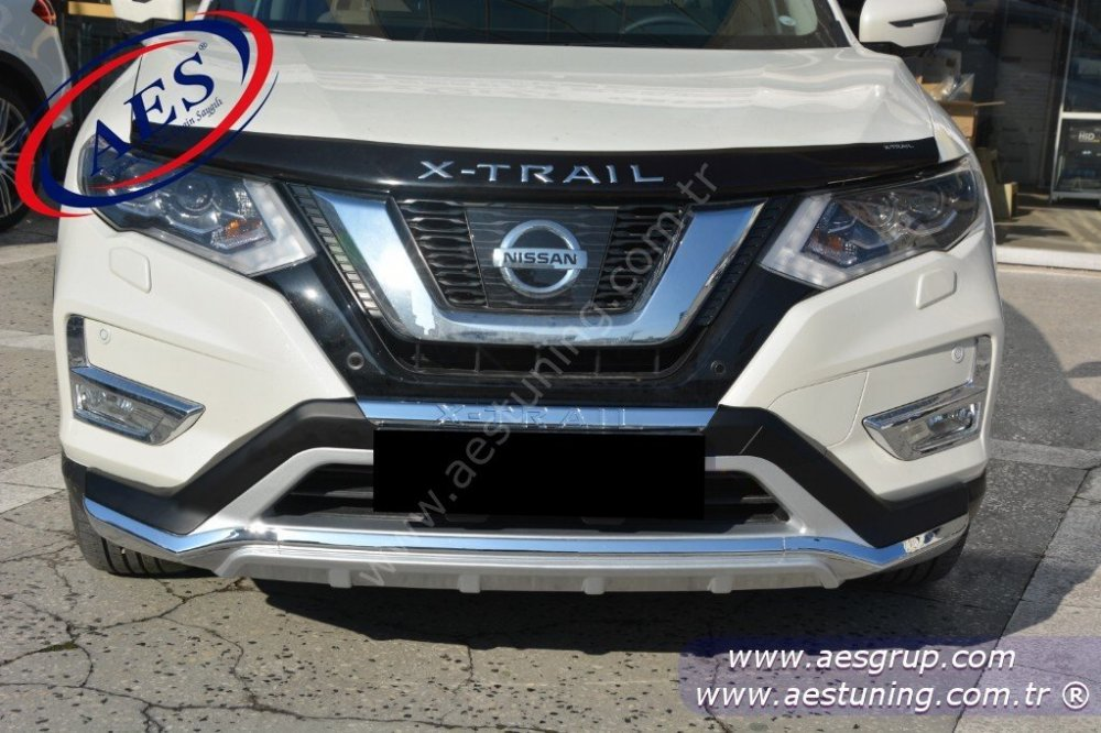 Nissan X Trail >> 2017 Nissan Yeni X Trail On Arka Tampon Koruma Difuzor Orjinal Oem Aksesuar Ithal